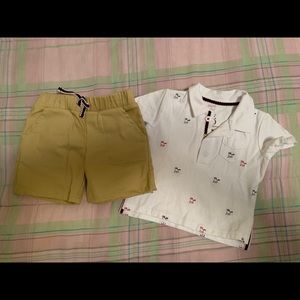 Other - Short and polo set